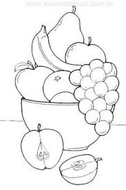 Small Picture fruit bowl drawing for kids coloring Pinterest Digital image