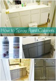 spray paint kitchen cabinetsSpray Paint Cabinets Best Picture Spray Painting Kitchen Cabinets