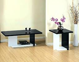 coffee table sets coffee table sets modern white and black coffee table sets black