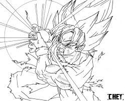 Small Picture Dragon Ball Z Goku Super Saiyan 5 Coloring Pages