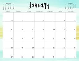 Printable Free Monthly Calendars Free 2019 Printable Calendars 46 Designs To Choose From