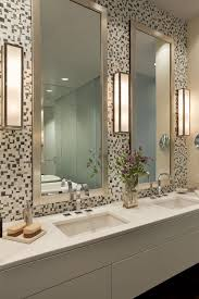 Bathroom big mirrors mosaic tile around bathroom mirror bathroom
