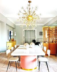 mid century modern dining chandelier tour a playfully feminine apartment via interior design for living room in india