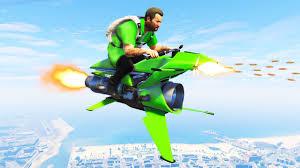 UNRELEASED $5,000,000 <b>FLYING</b> ROCKET <b>BIKE</b>! (GTA 5 DLC ...