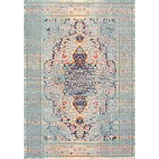 nuloom distressed persian sarita grey 8 ft x 11 ft area rug