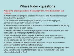 rider essay whale rider essay