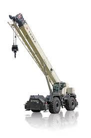 Grove Rt760 Load Chart Rt 670 Rough Terrain Crane Terex Cranes