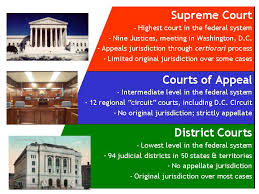 United States Court System Flow Chart Federal Court Concepts Structure Of Federal Courts