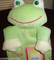 Details About Dandee Pretty As A Picture Design Height Plush Frog Growth Chart