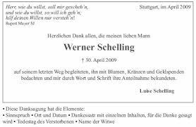 Danksagungen Formulieren Bestattungen Rolf Stuttgart