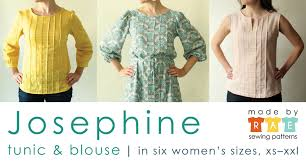 Indie Sewing Patterns Delectable Favorite Indie Sewing Patterns Josephine Blouse Sew Mama Sew