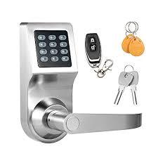 digital office door handle locks. Keyless Electronic Digital Smart Door Lock, Keypad \u2013 Smartcode Security,  Grant \u0026 Control Access Digital Office Door Handle Locks E