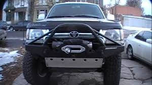 Armorology Front Bumper 2001 4Runner - YouTube