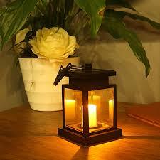 Waterproof LED Solar Garden Light Outdoor Flickering Flameless