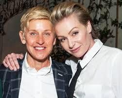 Ellen And Portia Ellen Degeneres Sounds Off On Portia De Rossi Breakup Rumors
