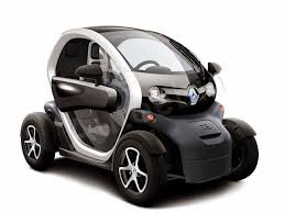 RENAULT TWIZY The Twizy feeds the tiny rear wheels from a 17