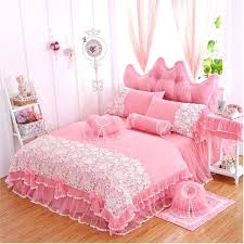 purple ruffle comforter princess lace bedspread bedding set twin full queen king size pink purple red purple ruffle comforter