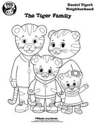 Small Picture Coloring Daniel Tigers Neighborhood PBS KIDS coloring pages