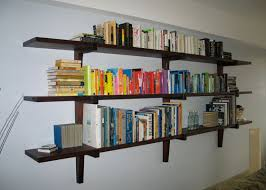 Wall Mount Bookshelf Wall Mounted Bookshelves Designs Long Wood Pertaining  To Wall Mounted Bookcase Wall Mounted