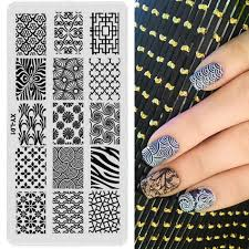 1 pc Nail Stamping Plates Plastic new arrival Stamping Plate Lace ...