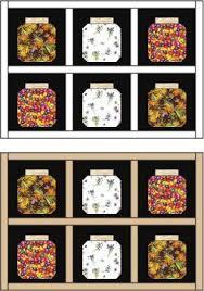 Easy Bug Jar Quilt Block Pattern & Example of a Bug Jar Quilt with Sashing Adamdwight.com