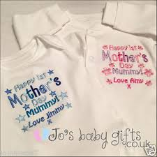 image is loading personalised baby clothes bib vest or sleepsuit first