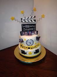 Graduation Cake - Film Major | Graduation cakes, Graduation party, Cake