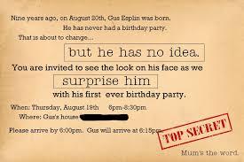 surprise birthday party invite surprise birthday invites wording surprise party invitation wording