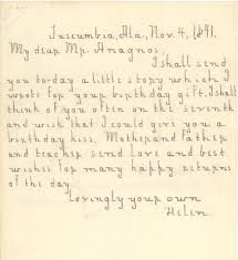 helen keller and michael anagnos correspondence flickr