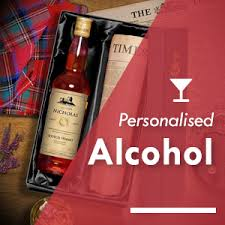 personalised alcohol newspaper gifts