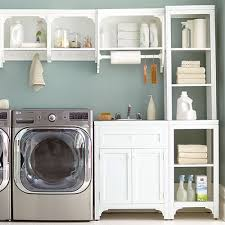 Laundry room office design blue wall Room Ideas Laundry Office Shelving Home Depot Shelving Accessories The Home Depot