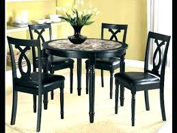 small wooden kitchen tables black table with bench round dining for 4 impressive set