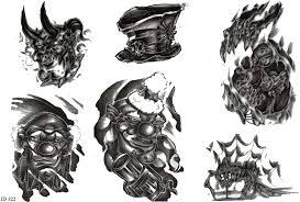 Motiv Tetování Peklo ďábel 674