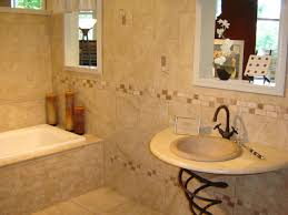 ... Splendid Ideas To Design Small Bathroom : Cozy Rectangular Soaking  Bathtub And Wall Mounted Right Facing ...