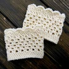 Free Crochet Boot Cuff Patterns Delectable Lacy Crochet Boot Cuff Free Pattern Crochet Pinterest Crochet