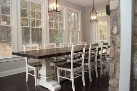 farm dining room table. josh leg pedestal base farm beauteous dining room tables atlanta table o