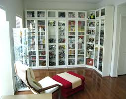 glass corner shelf floor to ceiling bookcase custom made ikea fronted bookcase instructions shelves with doors glass door cabinet billy