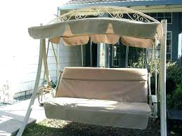 replacement swing cushion canopy frame best of cushions with back pictures patio garden parts