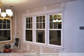 dining room windows. Beautiful Room Dining Room  How To Install Trim And Casing In New Windows After On Dining Room Windows
