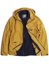 Peaceful Hooligan 3 In 1 Compass Jacket Inca Gold Charlie Fleece Navy