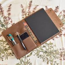leather notebook cover by wearsoulflower