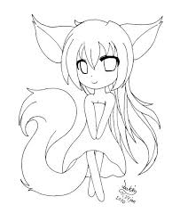 Anime Coloring Pages Printable Arcadexme