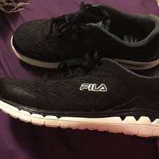 fila energized memory foam. fila shoes - euc fila energized cool max memory foam gym shoes energized memory foam