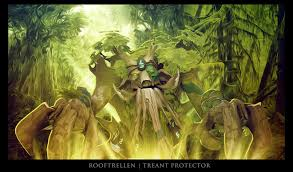 treant protector wallpaper dota2