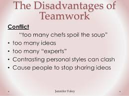 Disadvantages Of Teamwork Disadvantages Of Teamworking