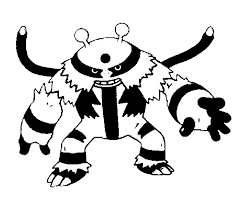 Small Picture Coloring Pages Pokemon Electivire Drawings Pokemon