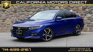 2020 accord touring 2.0t shown for demonstration purposes. Sold 2018 Honda Accord Sedan Sport 2 0t In Santa Ana