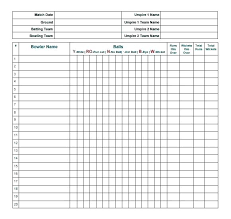 Cricket Score Sheet 20 Overs Excel Darts Score Sheet Out Chart For 501 Happinessguide
