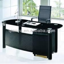 office desk glass top. modern glass topu0026steel bossoffice desktable cyb2072 office desk top