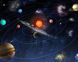 Outer Space Bedroom Solar System Space Wallpaper Mural Kool Rooms For Kool Kids